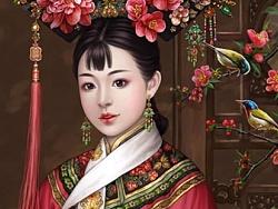 书亦飞 · 华夏美人系列之倾国名花