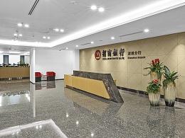 建筑空间摄影--招商银行工程案例