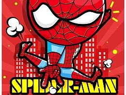 小蜘蛛归来!喜欢漫威!