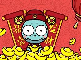 春节-微信-GIF表情包(微信:奔波儿灞与灞波儿奔)