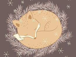如何用AI画一只小狐狸?