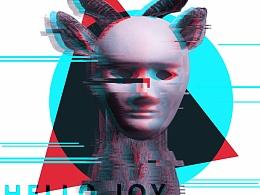 【一周一练】EP02 故障艺术海报设计