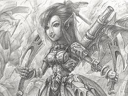 补尾6——斧头骑士