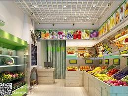 小型水果店-成都专业水果店设计 成都水果店装修公司