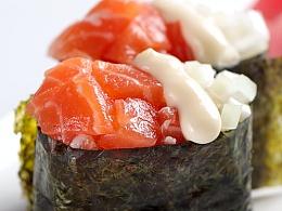 三文鱼军舰寿司