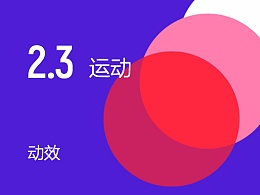 2017 Material Design中文完整版:第二章节第三部分《动效:运动》