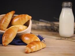 奶香黄油面包卷