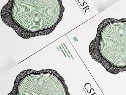 永丰馀中华纸浆CSR企业社会责任报告书设计