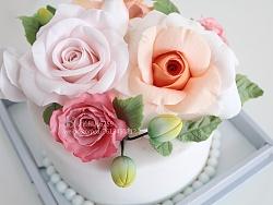 翻糖花蛋糕