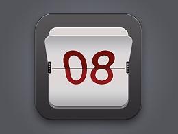 ps绘制日历图标案例