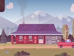 AI教程 | 小屋场景插画 | 详细教程附效果图