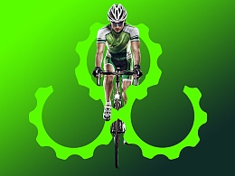 自行车LOGO  自个品牌
