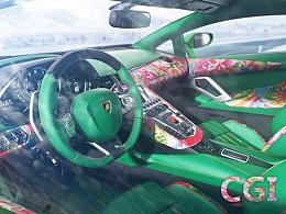 CGI Aventador LP700