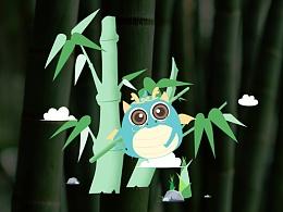 纸品包装插画设计吉祥物动作设计吉祥物表情设计