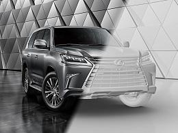 Lexus LX570 CGI摄影