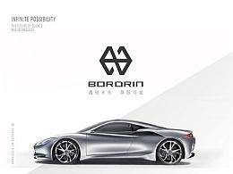 【博郡汽车logo设计】遇见未来,无限可能