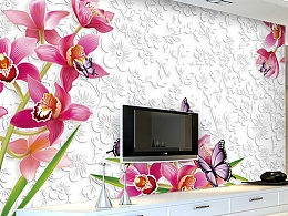 2017现代简约电视背景墙装修效果图
