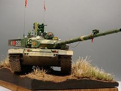 我兔也可以很洋气 99主战坦克
