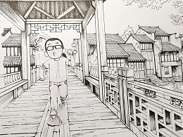 手绘练习-漫画场景篇