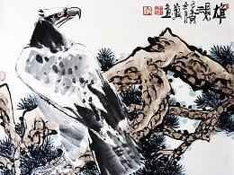 【雄视】李家兴国画作品