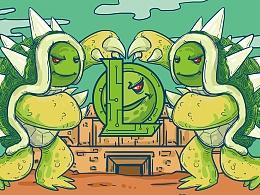 英雄联盟-我就是喜欢你,大龙龟