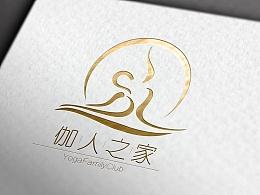 微整和瑜伽的logo
