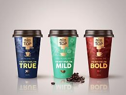 韩国Maxim咖啡 T.O.P全新包装设计