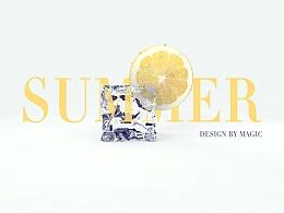 [第十期]Cinema 4D柠檬冰块高级建模渲染教程