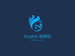 玄鸟珠宝标志设计