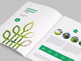 农业画册 农产品画册 农业发展公司画册