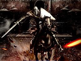 骑士精神海报合成