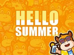 Hello Summer!-My illustrator 2017-B
