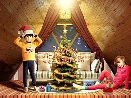 Robber大神的圣诞节场景打造