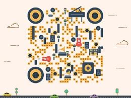 微信公众号艺术二维码