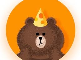 每日一练《布朗熊与可妮兔》