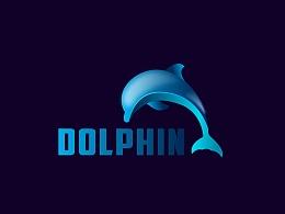 临摹-精致海豚LOGO