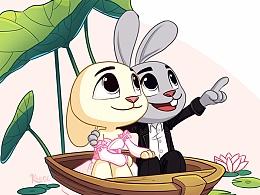 兔子的佳节系列