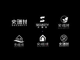 企业LOGO 地产 房屋 闪电 字母 字体变形 环保 盾牌