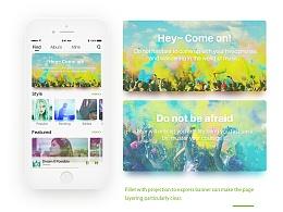 Simple Music App 概念设计