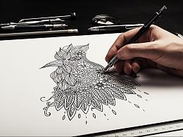 黑白画练习