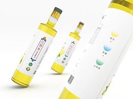 山魂-三棵油-百年山茶树油包装设计