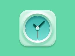 PS打造超逼真的时钟图标