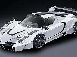 法拉利跑车-写实图标