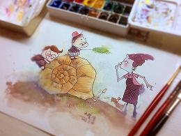 《安静的时光》之蜗牛房子