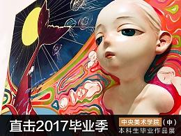2017中央美院本科生毕业展现场报道(中)#2017毕业展#