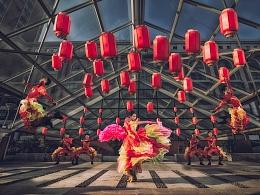 《鼓舞飞扬》一个人就是一个制作团队的照片创作思路