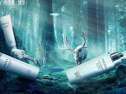 —化妆品合成海报—(后附GIF)