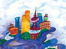 意境中的Shanghai