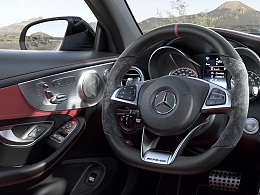 C63 S Interior Panoramic