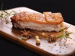 嫩食记—色香俱全,一吃难忘的脆烤五花肉